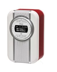 View Quest Christie Red High-fidelity DAB Radio