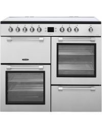 Leisure Cookmaster Range Cooker 100cm Silver Electric CK100C210S