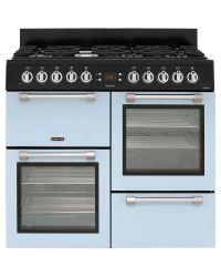 Leisure Cookmaster Range Cooker 100cm Dual Fuel Baby Blue CK100F232B