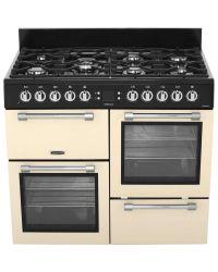 Leisure Cookmaster Range Cooker 100cm Dual Fuel  Cream CK100F232C