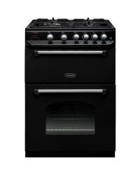 Rangemaster CLAS60NGFBL/C Double Oven Gas Cooker