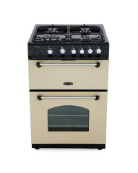 Rangemaster CLAS60NGFCR/C Double Oven Gas Cooker