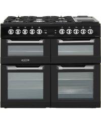 Leisure Cuisinemaster Range Cooker 100cm Dual Fuel Black CS100F520K