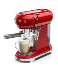 SMEG ECF01RDUK Red Retro Style Coffee Machine