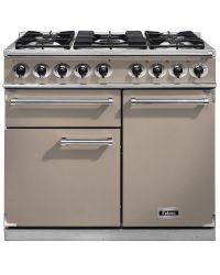 Falcon 1000 Deluxe Range Cooker 100 Dual Fuel Fawn F1000DXDFFN/NM