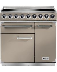 Falcon 900 Deluxe Range Cooker 90 Induction Fawn F900DXEIFN/N-EU