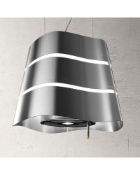 Elica Flow Stainless Ceiling Pendant Cooker Hoods