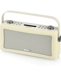 View Quest Hepburn Cream High-fidelity DAB Radio