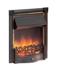 Dimplex Horton HTN20BL Electric Fire Black