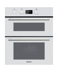 Hotpoint DU2540WH Built-in Double Oven