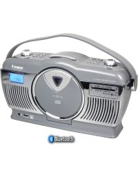 Steepletone Stirling 4 Retro Style CD Radio with Bluetooth Streaming