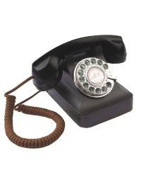 Steepletone STP121 Black 1930s Retro Telephone