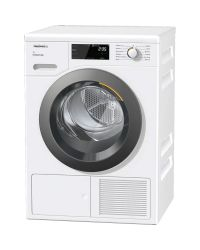Miele TCF640 WP EcoSpeed & 8kg Heat Pump Condenser Dryer