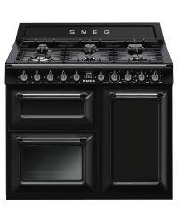 Smeg Victoria Range Cooker 100 Dual Fuel Black TR103BL ***Claim £300 Cashback***