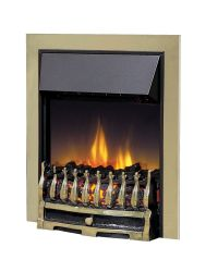 Dimplex Wynford WYN20ABE Electric Fire Antique Brass