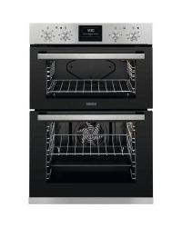 Zanussi ZOA35660XK Built In Electric Double Oven Stainless Steel
